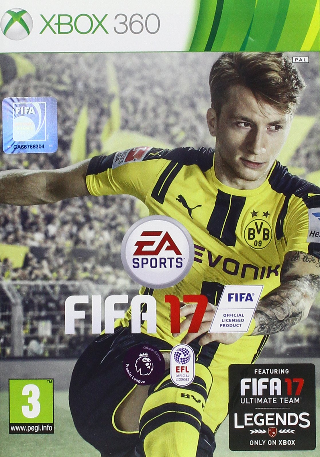FIFA 17 - Standard Edition [Importación Inglesa]: Amazon.es ...