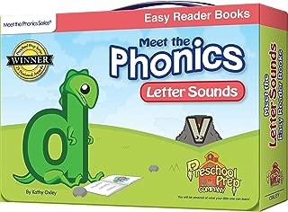 Meet the Phonics - Letter Sounds - Easy Reader Books