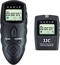 JJC Wireless Intervalometer Timer Remote Control Shutter Release for Fuji Fujifilm X-T4 X-T3 X-T2 X-T1 X-T30 X-T20 X-T10 ...
