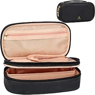 Makeup Bag, Samtour Small Makeup Organisers Makeup Case Cosmetic Organiser Makeup, Travel Makeup Bag Portable Professional...