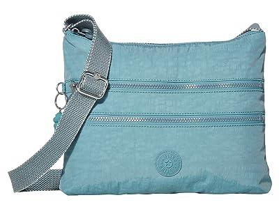 Kipling Alvar Crossbody Bag (Aqua Frost) Cross Body Handbags