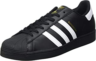 adidas Originals Superstar, Scarpe da Ginnastica Uomo, Nero Core Black Ftwr White Core Black, 53 1/3 EU