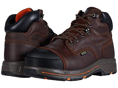 Timberland PRO 6 Helix HD Composite Safety Toe Internal Met Guard (Brown) Men
