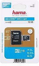 DURAGADGET HAMA MicroSDHC Class UHS-I Memory Card  with MicroSD Adapter  Compatible with Xiaomi CC9 CC9E Lite Redmi Redmi Note Pro Redmi Smartphones