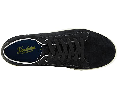 Edge Nubuck Negro Oxford Toe Florsheim Lace To vfwxqqROd