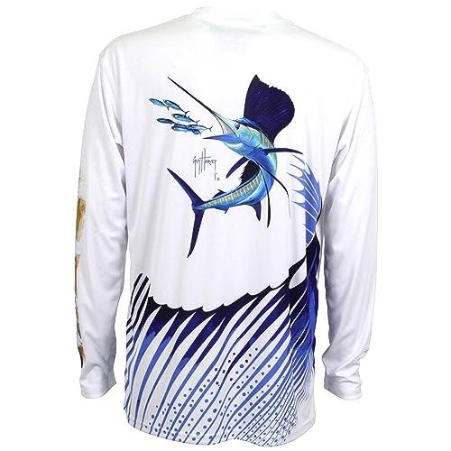 479f6e5ae44c Guy Harvey Ultra Pro UVX Sailfish Performance LS T-Shirt