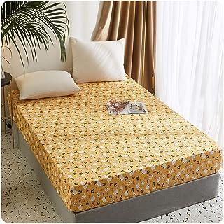 Premium Quality Plain Fitted Sheet, Soft & Cosy Fleece Bed Linen, Bedding, Kingsize Bedsheet,135cmX200cm+30cm