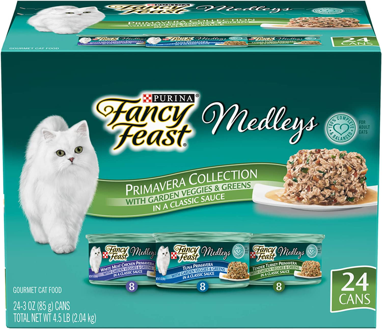 Purina specialty shop Fancy Feast free shipping Medleys Adult Cat Variety Pack Food Wet