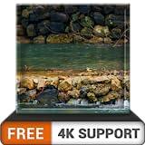cachoeira livre natureza HD - aprecie a bela paisagem na sua TV HDR 4K, TV 8K e dispositivos de incêndio como papel de parede, decoração para as férias de Natal, tema de mediação e paz