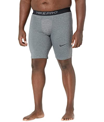 Nike Big Tall Pro Shorts (Dark Smoke Grey/Particle Grey/Black) Men