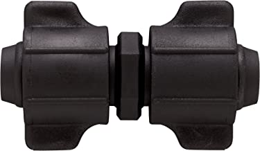 Orbit 2 Pack 1/2 Inch Universal Coupler Fitting for Drip Irrigation Tube (.620-.710)