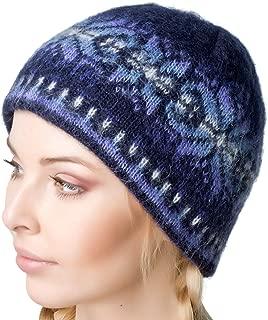 Winter Beanie Cap 100% Icelandic Wool Unisex 2 Ply Knitted