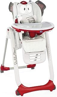 comprar comparacion Chicco Polly 2 Start Trona y hamaca transformable y compacta, con 4 ruedas y freno, de 0 a 3 años, diseño elefante gris (B...