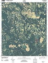 Georgia Maps - 2011 Gough, GA USGS Historical Topographic - Cartography Wall Art - 44in x 55in