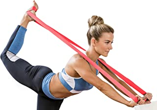 HEALTHYMODELLIFE Ballet Stretch Band by Healthy Model Life for Leg Stretching in Dance, Gymnastics, Cheerleading & Ice Skating - Gain Flexibility & Strength w/No Slip Grip