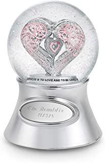 Things Remembered Personalized Say It with Love Musical Snow Globe with Engraving Included