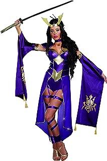 Dreamgirl Women's Mortal Samurai Video Game Romper Costume