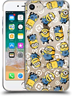 Official Despicable Me Character Pattern Minion Graphics Soft Gel Case Compatible for iPhone 7 / iPhone 8