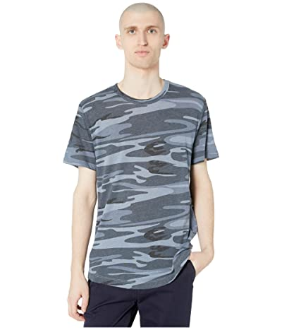 Alternative Eco Shirttail Tee (Blue Camo) Men