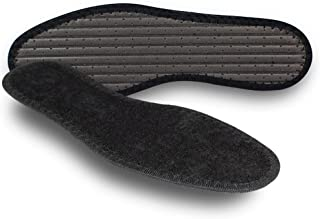 Pedag Summer, German Pure Cotton Terry Barefoot Insole, Washable, Sweat Absorbent, Moisture Control, Black, Us 8l/ 38 Eu,...