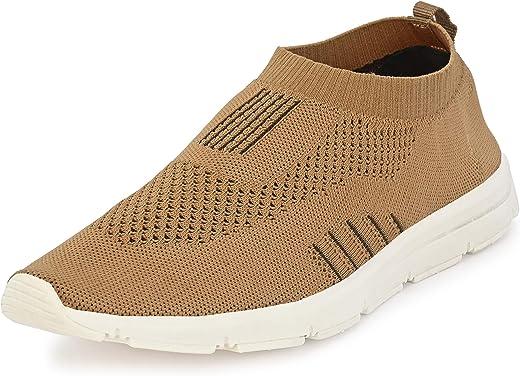 حذاء الجري فيجا-4 للرجال من بورجي، لون بني