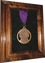 product image for All American Gifts Single Military Medal Display Case - 5x7 Walnut (Red Velvet)
