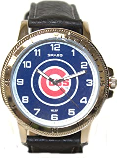 Rico Chicago Cubs Classic Men's Sport Watch Black Band