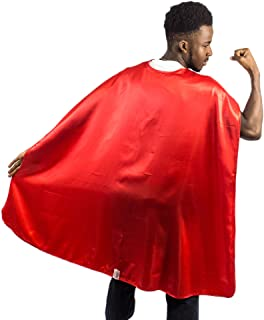 Everfan Adult Superhero Cape | Superhero Capes for Adults | Satin Costume Cape