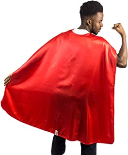 Adult Superhero Cape | Superhero Capes for Adults | Satin Costume Cape
