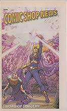 Comic Shop News, no. 1316 (2012) (cover: Sword of Sorcery—Amethyst & Beowulf): Joe Kubert obituary, Buffy the Vampire Slayer: Willow—Wonderland, Green Arrow, Spider-Man vs Cloud-9, Augusta Wind, X-Men
