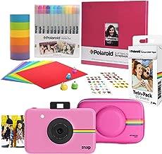 Polaroid Snap Instant Digital Camera (Pink) Scrapbook Kit with Eva Case
