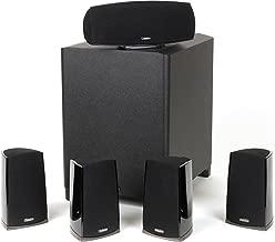 Definitive Technology ProCinema 400BK 5.1 Speaker System (Black, 6 Pieces)