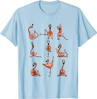 flamingo yoga shirt