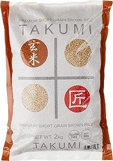 Takumi Premium Short Grain (Japonica) Brown Rice, 2 Kg