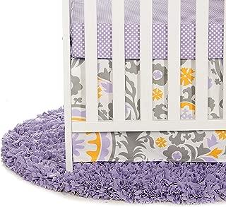 Best purple crib sheet and skirt Reviews