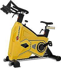 دراجة باور ماكس فيتنس للكبار من الجنسين BS-3600C مجموعة تجارية/دوارة - أصفر/أسود، مقاس واحد