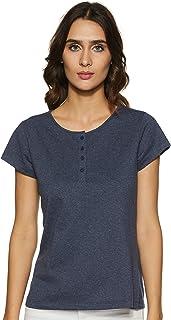 StyleVille.in Womens' Plain Regular Fit T-Shirt