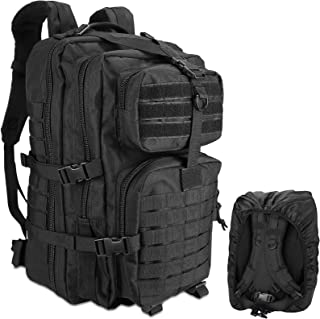 Yakmoo Assault Backpack 45L Tactical Military Waterproof Pack Molle System Student Bag Large Multifunctional Rucksack for Outdoors