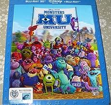 Monsters University [Blu-ray 3D/Blu-ray Steelbook BLUFANS Exclusive LENTICULAR Slip Cover; Region-Free]