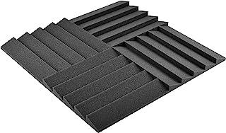 AcousPanel Espuma Acústica Pack de 12 Planchas de 30x30x3cm Color Gris Antracita