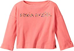 Sonia Rykiel Kids - Long Sleeve Logo T-Shirt (Toddler/Little Kids)