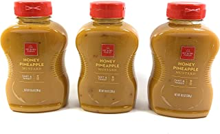 Hickory Farms Honey & Pineapple Mustard, (Pack of 3)