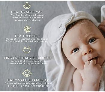 BELLA B Bee Gone Cradle Cap Baby Shampoo 8 oz - Natural Shampoo - Dry Scalp Shampoo - Cradle Cap Shampoo For Babies -...