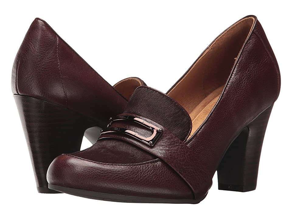 Sofft Misty (Mahogany Cow Vintage/Horse Hair) High Heels