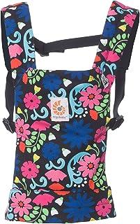 Ergobaby 娃娃背袋系列,兒童玩具娃娃手提袋,* 純棉 French Bull - Flores