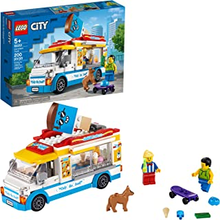 LEGO City Ice-Cream Truck 60253, Cool Building Set for...