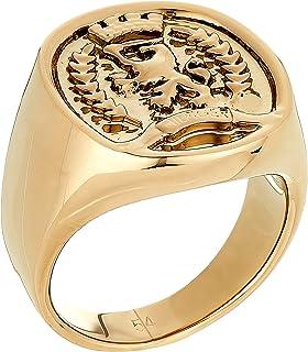 خواتم فولاذية ونحاسية شعيرة مطلية بالذهب للنساء من تومي هيلفجر - 2780354c