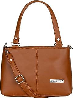 Fristo Women's Kaira Handbag & Sling Bag(FRBN-011)(Tan)