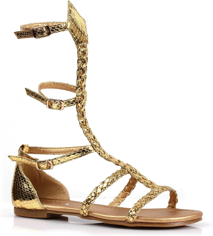 Ellie Shoes Girl's Miriam Gladiator Roman Costum Sandals Greek Ranking TOP6 - Max 41% OFF