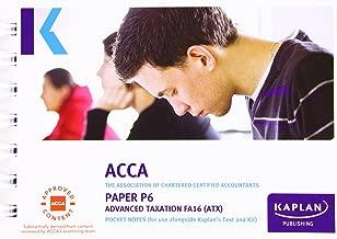 ACCA P6 Advanced Taxation FA2016 - Pocket Notes